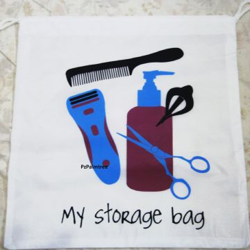 White Travel Storage Bag